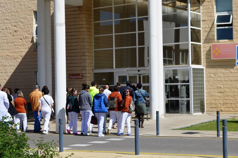 El Hospital de Calahorra, dos días sin traumatólogo de guardia