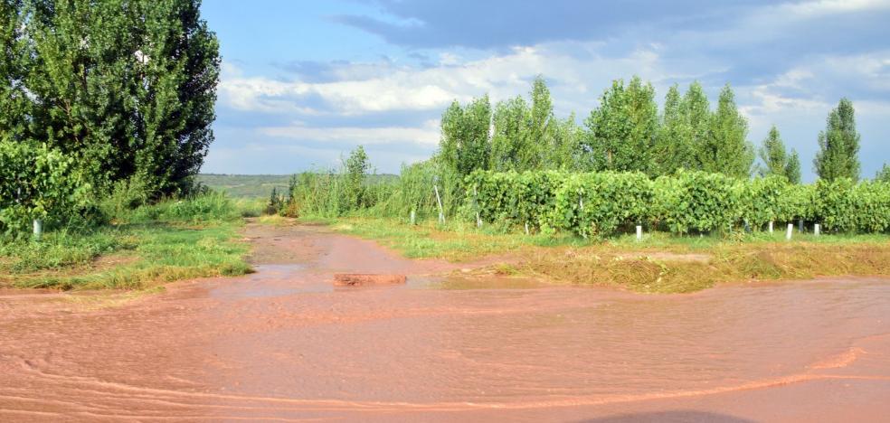Caminos rotos tras las tormentas