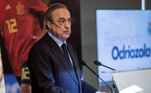 Florentino Pérez asegura que el Madrid se reforzará «con grandísimos jugadores»