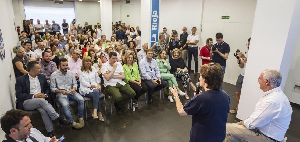 Quién vota a quién en La Rioja en el congreso del PP