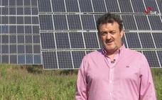 El actor riojano César Vea presenta su documental sobre el «atraco» de las renovables
