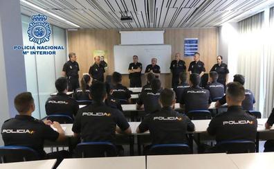 La Policía Nacional en La Rioja se refuerza con 17 agentes en prácticas