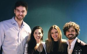De genio a genio: Pau Gasol visita Pablo Sáinz Villegas en un concierto en EEUU