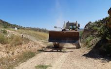 Arreglo de caminos rurales en Cervera del Río Alhama y sus cinco pedanías