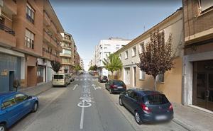 Cuatro heridos en un accidente en el casco urbano de Calahorra