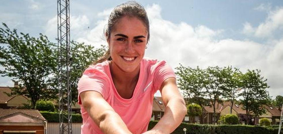 Patricia Ortega, campeona de España de heptatlón