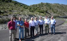La Rioja renueva la carretera LR-284 entre Cervera y el límite con Soria