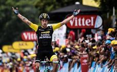 Roglic salta al podio y Thomas sentencia el Tour