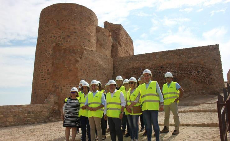 Consolidación y recuperación del castillo de Arnedo