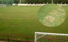 Actos vandálicos en el campo de hierba natural del Mundial 82
