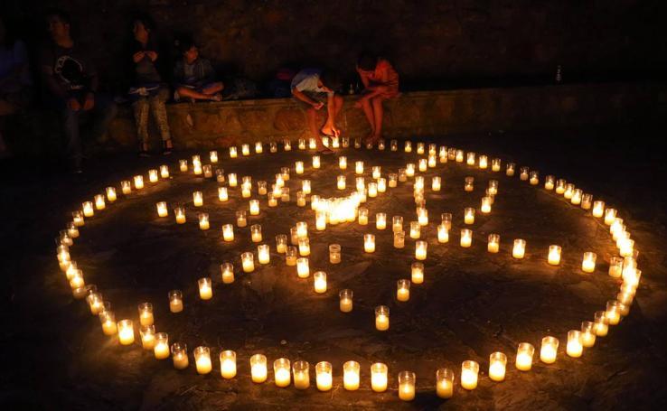Noche de las velas en El Rasillo
