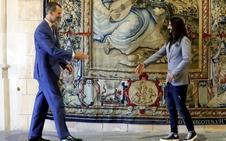 El Rey señala su disposición a «tender puentes» con el soberanismo catalán