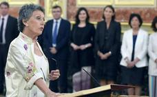 Rosa María Mateo promete en el Congreso su cargo como administradora de RTVE