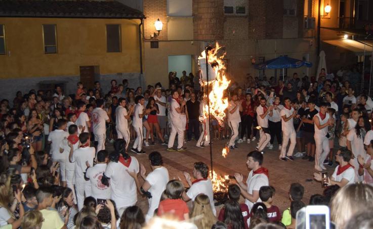 Último día de las fiestas de Santa Ana de Cervera