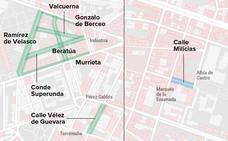 Zona azul y verde en Logroño: 8 nuevas calles