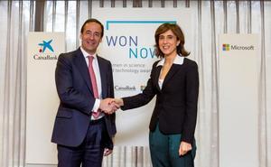 Cinco riojanas en los premios WONNOW STEM