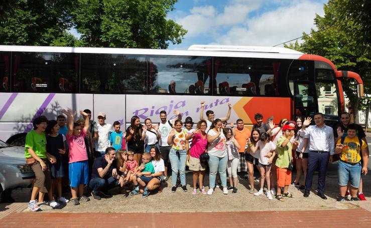 Veinte jóvenes con discapacidad se van de campamento a Alfaro