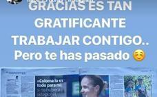 Piropos entre Rocío y Carlos en las redes sociales