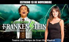 La riojana María José Garrido formará parte del elenco en el musical 'El jovencito Frankenstein'