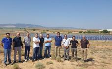 Alfaro instala el primer riego fotovoltaico en una comunidad de regantes