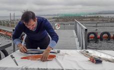 El salmón noruego, de la 'granja' a la mesa