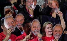 El PT lanza la candidatura de Lula y promete sacarlo de la cárcel