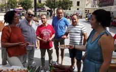 Haro estrena la Feria de Artesanía en la Plaza de la Paz