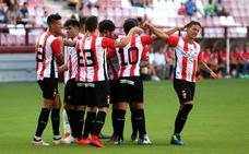 La UD Logroñés expresa la realidad de su fútbol