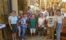 Ayer se celebró la fiesta de la Virgen de Nieva