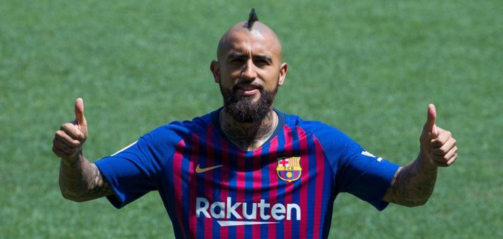 Vidal: «Tengo una cuenta pendiente con la Champions»