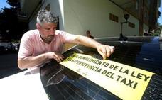 Podemos pide al Gobierno riojano que defienda los derechos de los taxistas