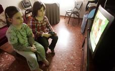 Los niños castellanoleoneses son los que más horas pasan ante la televisión