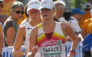 Takács estrena el medallero español en la marcha