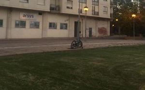Bicicletas «aparcadas» durante meses