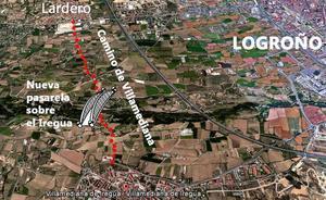 Lardero acometerá la mejora del Camino de Villamediana