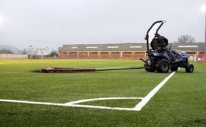 La SDL jugará en el campo de hierba artificial del Mundial'82