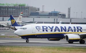 Ryanair cancela 24 vuelos en España por la huelga del viernes