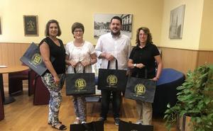 «STOP bolsas de plástico» en Alfaro