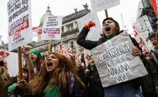 La ley del aborto moviliza a los argentinos