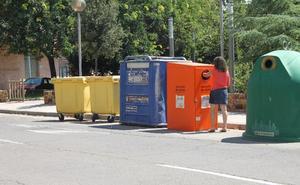 Arnedo ubica otro contenedor para el aceite usado en avenida del Cidacos