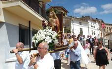 Ayer salió en procesión la Virgen de la Antigua
