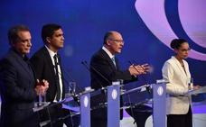 Lula, protagonista ausente del primer debate electoral en Brasil