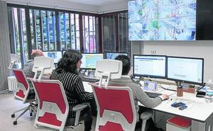 El panel de control de la ciudad