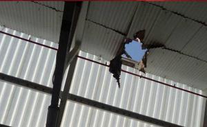 Fallece un trabajador tras caer desde el tejado de la Papelera del Ebro
