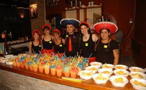 Fiesta mexicana del CJCC en la Peña Calagurritana