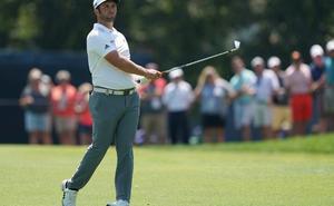 Jon Rahm asciende al octavo puesto del Campeonato de la PGA tras una gran remontada
