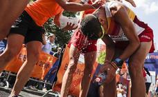 Camilo Santiago da la plata al maratón español