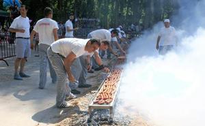 Chorizo asado en Comprovín