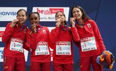 Buena cosecha de medallas para España