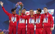 Camilo sube a España al podio continental